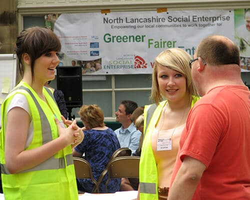 A meeting of the North Lancashire Social Enterprise Network